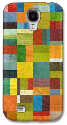 Abstract Style Galaxy S4 Cases