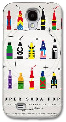Super Powers Galaxy S4 Cases