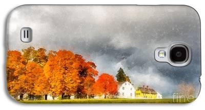 New England Village Galaxy S4 Cases
