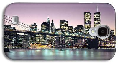 Twin Towers Nyc Galaxy S4 Cases