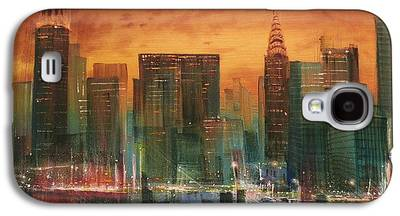 City Scene Galaxy S4 Cases