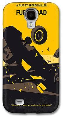 Fury Digital Art Galaxy S4 Cases