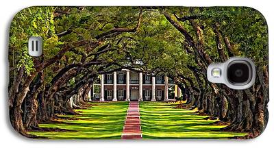 Oak Alley Plantation Galaxy S4 Cases