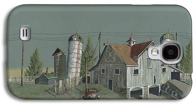 Barn Paintings Galaxy S4 Cases