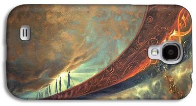 Stellar Paintings Galaxy S4 Cases
