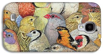 Birds Galaxy S4 Cases