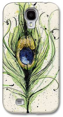 Peacock Galaxy S4 Cases