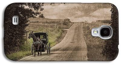 Horse And Buggy Galaxy S4 Cases