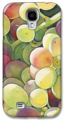 Vine Grapes Galaxy S4 Cases