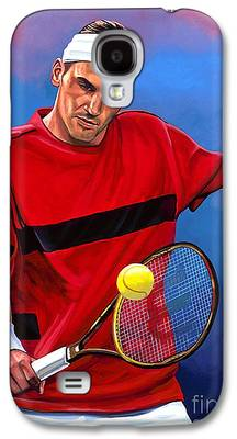 Roger Federer Galaxy S4 Cases