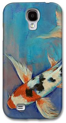 Butterfly Koi Galaxy S4 Cases