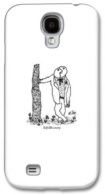 Self Discovery Drawings Galaxy S4 Cases
