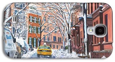 Snow Scenes Galaxy S4 Cases