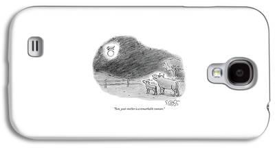 Nursery Rhyme Galaxy S4 Cases