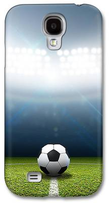 Soccer Galaxy S4 Cases