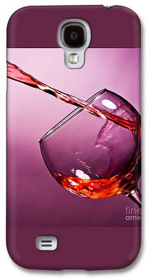 Wine-glass Galaxy S4 Cases