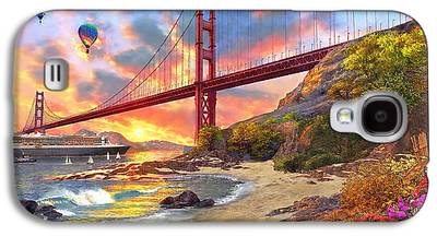 Golden Gate Bridge Galaxy S4 Cases