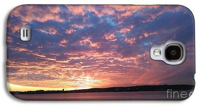 Reflection Of Sun In Clouds Galaxy S4 Cases