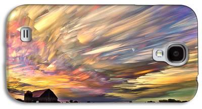 Trippy Galaxy S4 Cases