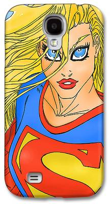 Supergirl Photographs Galaxy S4 Cases