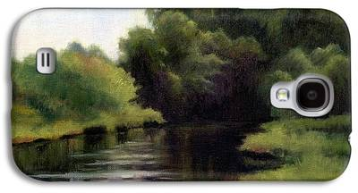 Swan Creek In Hickman County Galaxy S4 Cases
