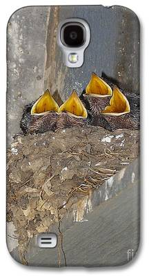 Swallow Chicks Galaxy S4 Cases