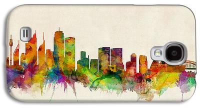 Sydney Skyline Galaxy S4 Cases