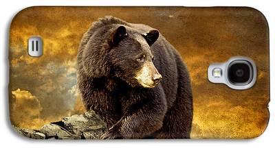 Brown Bear Galaxy S4 Cases