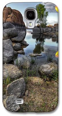 Watson Lake Photographs Galaxy S4 Cases