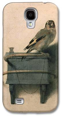 Ornithology Paintings Galaxy S4 Cases