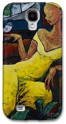 Young Paintings Galaxy S4 Cases