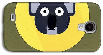 Koala Digital Art Galaxy S4 Cases