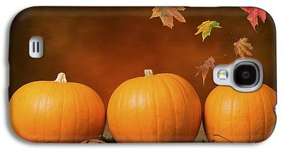 Pumpkin Galaxy S4 Cases