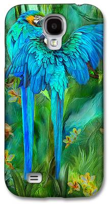 Macaw Galaxy S4 Cases
