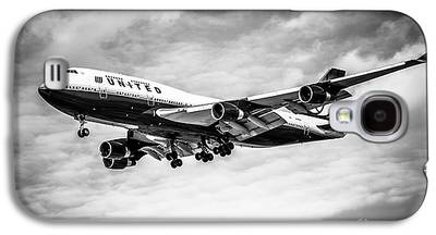 Passenger Plane Galaxy S4 Cases