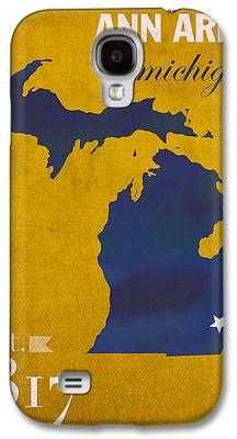 University Of Michigan Galaxy S4 Cases