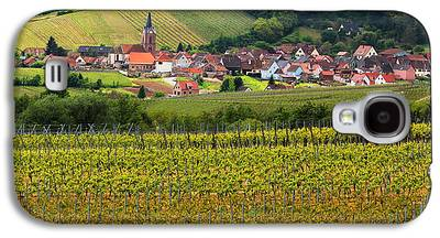 Vineyards Of Alsace Photographs Galaxy S4 Cases