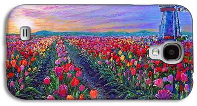 Spring Bulbs Paintings Galaxy S4 Cases
