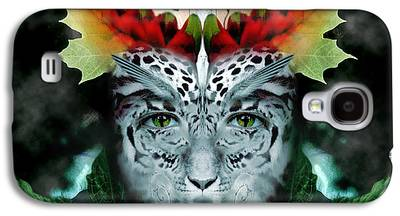 Eyes Digital Art Galaxy S4 Cases