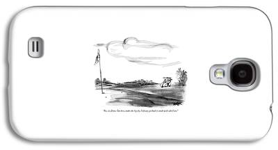 Contemplative Drawings Galaxy S4 Cases