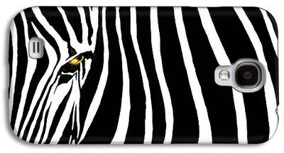 Black And White Art Galaxy S4 Cases