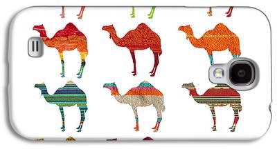 Camel Digital Art Galaxy S4 Cases