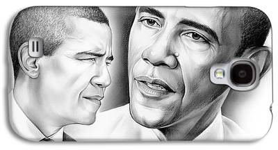 President Barack Obama Galaxy S4 Cases