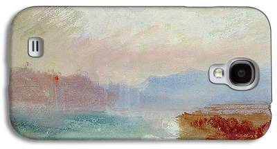 Abstract Beach Landscape Drawings Galaxy S4 Cases