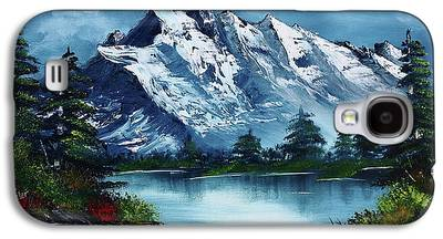 Landscape With Mountains Galaxy S4 Cases