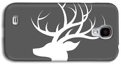 Deer Digital Art Galaxy S4 Cases