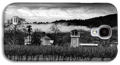 Napa Valley And Vineyards Galaxy S4 Cases