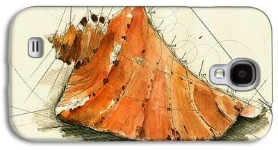 Seashell Art Galaxy S4 Cases