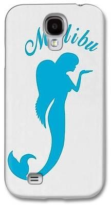 Angel Mermaids Ocean Drawings Galaxy S4 Cases