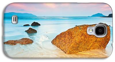 Beach Sunset Galaxy S4 Cases